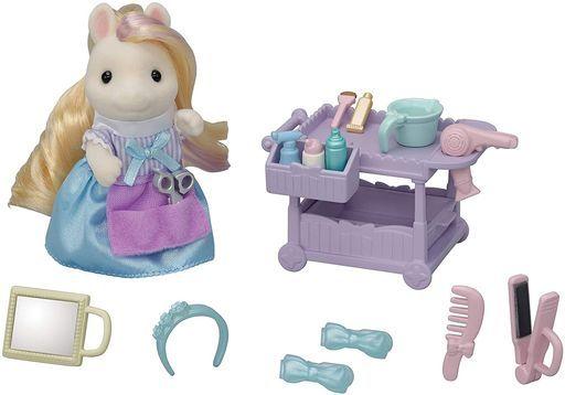 エポック社 新品 おもちゃ おしゃれなポニーの美容師さんセット 「シルバニアファミリー」