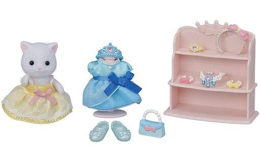 エポック社 新品 おもちゃ おしゃれにドレスアップセット 「シルバニアファミリー」