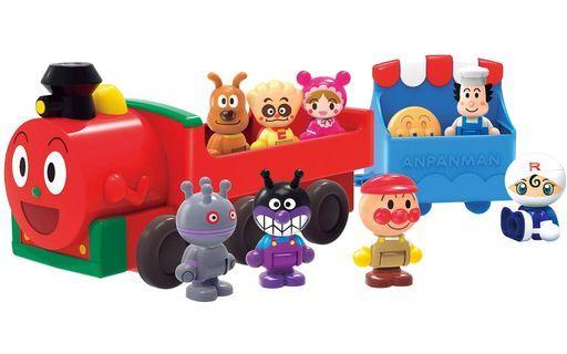 バンダイ 予約 おもちゃ アンパンマンはじめてハウスドールセット SLマンと8人のなかまたち 「それいけ!アンパンマン」