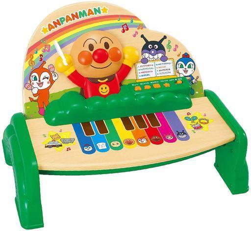 ジョイパレット 新品 おもちゃ 木のやさしいスマートタッチピアノ 「それいけ!アンパンマン」