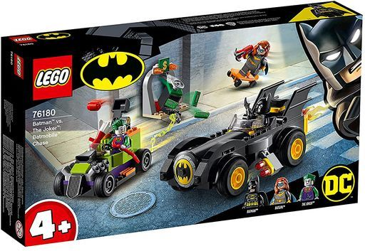 LEGO 新品 おもちゃ LEGO バットマン vs. ジョーカー: バットモービルのカーチェイス 「レゴ スーパーヒーローズ」 76180