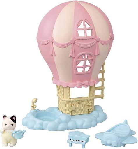 エポック社 予約 おもちゃ ふわふわ気球のおへやセット 「シルバニアファミリー」