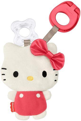 マテル 新品 おもちゃ フィッシャープライス サンリオベビー おしゃぶりクリップホルダー 「サンリオキャラクターズ」