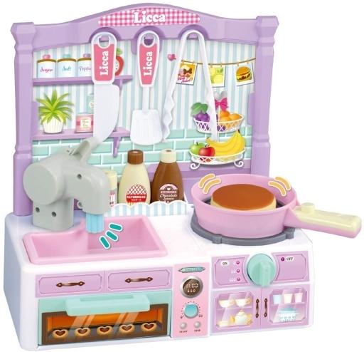 タカラトミー 新品 おもちゃ まぜまぜポンポンままごとキッチン 「リカちゃん」