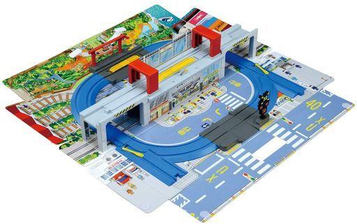 タカラトミー 新品 おもちゃ プラレール ひろげて立体!トミカとプラレールの街マップ