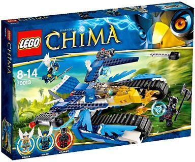 【中古】おもちゃ LEGO エキラのウルトラ・ストライカー 「レゴ チーマ」 70013