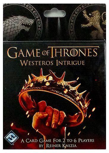 【中古】ボードゲーム [日本語訳無し] 七王国の玉座 ウェスタロスの陰謀 (Game of Thrones : Westeros Intrigue)