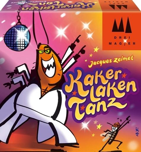 ジーピー/Drei Magier Spiele 新品 ボードゲーム ごきぶりダンス (Kakerlakentanz) [日本語訳付き]