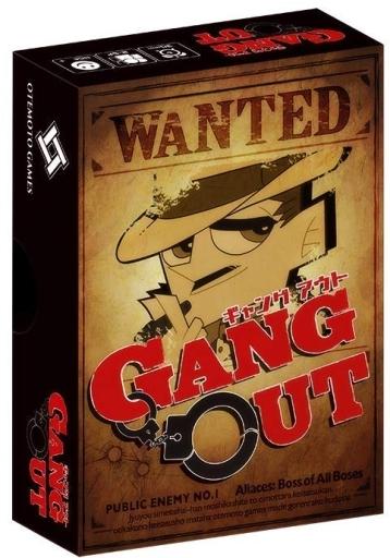 日本卓上開発 新品 ボードゲーム GANG OUT - ギャングアウト -