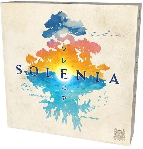 ホビージャパン 新品 ボードゲーム ソレニア 日本語版 (Solenia)
