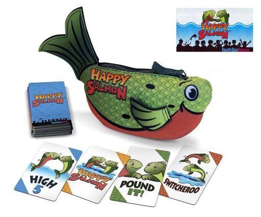 [日本語訳無し] ハッピー・サーモン グリーン版 (Happy Salmon)