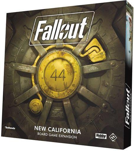 ホビージャパン 新品 ボードゲーム フォールアウト ボードゲーム:ニュー・カリフォルニア 日本語版 (Fallout: New California)
