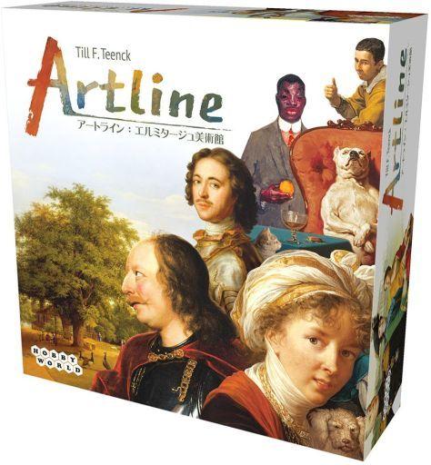 ホビージャパン 新品 ボードゲーム アートライン:エルミタージュ美術館 日本語版 (Artline)
