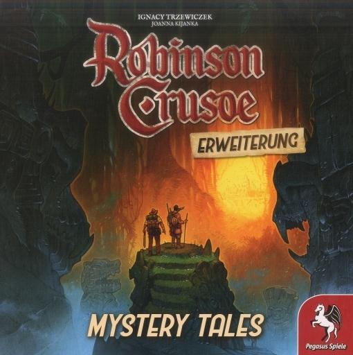 Pegasus Spiele 新品 ボードゲーム [日本語訳無し] ロビンソン・クルーソー: 呪われた島の冒険 ミステリータイル ドイツ語版 (Robinson Crusoe: Adventures on the Cursed Island Mystery Tales)