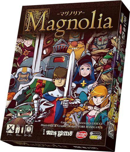 アークライト 新品 ボードゲーム マグノリア (Magnolia)