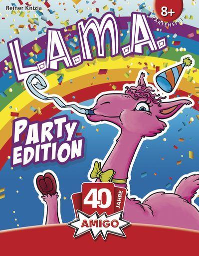 メビウスゲームズ/Amigo 新品 ボードゲーム ラマパーティ (L.A.M.A. Party edition) [日本語訳付き]