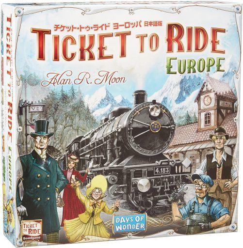 チケット・トゥ・ライド・ヨーロッパ 日本語版