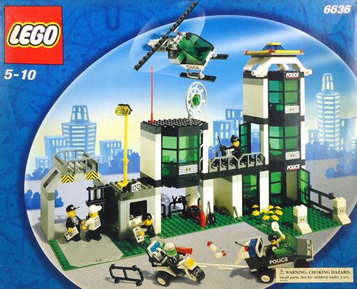 【中古】おもちゃ [破損品] LEGO コマンドポストセントラル 「レゴ シティ」 6636