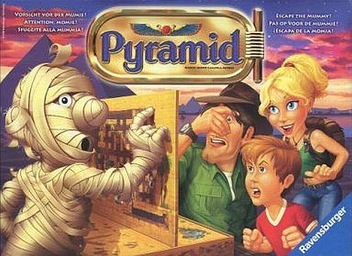【中古】ボードゲーム [破損品] 呪いのミイラ 多言語版 (Pyramid/Fluch der mumie)