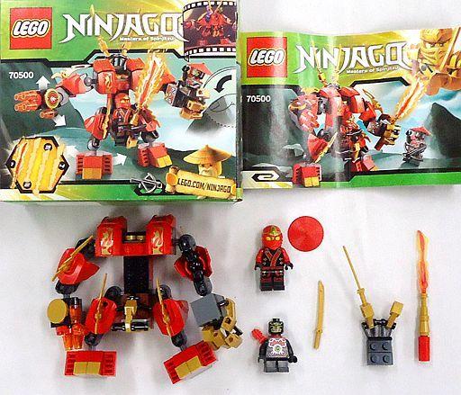 【中古】おもちゃ [開封済み] LEGO カイのファイヤー・メック 「レゴ ニンジャゴー」 70500