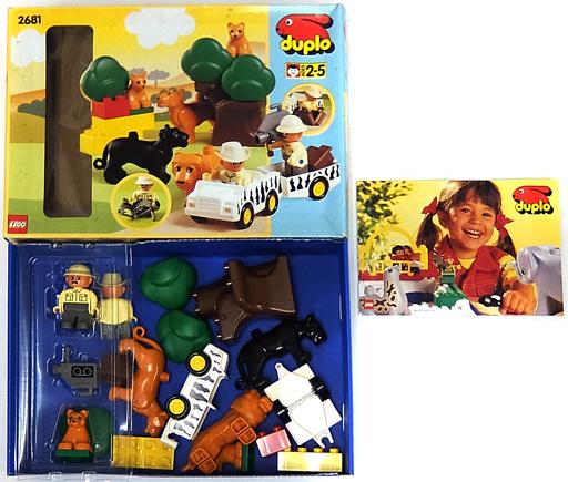 【中古】おもちゃ [開封済み/破損品] LEGO サファリ 「レゴ デュプロ」 2681