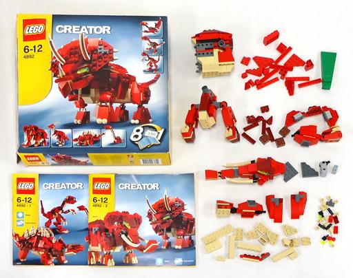 【中古】おもちゃ [ジャンク品] LEGO トリケラトプス 「レゴ クリエイター」 4892