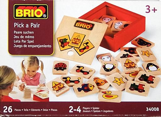 【中古】おもちゃ [破損品] BRIO-ブリオ- Pick a Pair -ピック・ア・ペア-