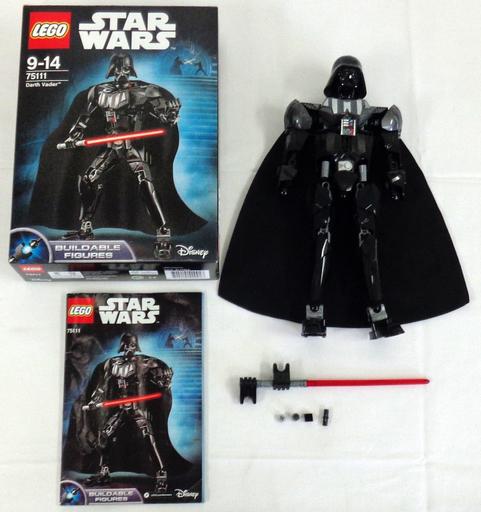 【中古】おもちゃ [開封済み] LEGO ダース・ベイダー 「レゴ スター・ウォーズ」 75111