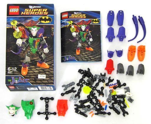 【中古】おもちゃ [開封済み] LEGO ザ・ジョーカー 「レゴ DC UNIVERSE スーパー・ヒーローズ」 4527