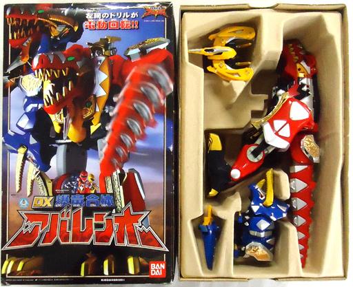 【中古】おもちゃ [破損品] DX爆竜合体 アバレンオー「爆竜戦隊アバレンジャー」