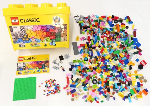 【中古】おもちゃ [開封済み] LEGO 黄色のアイデアボックス(スペシャル) 「レゴ クラシック」 10698