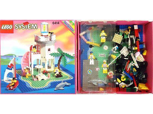 【中古】おもちゃ [開封済み] LEGO ドルフィンポイント 「レゴ パラディサ」 6414