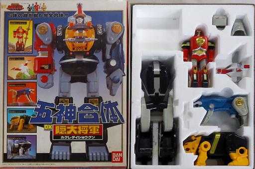 【中古】おもちゃ [破損品/付属品欠品] 五神合体 DX隠大将軍 「忍者戦隊カクレンジャー」