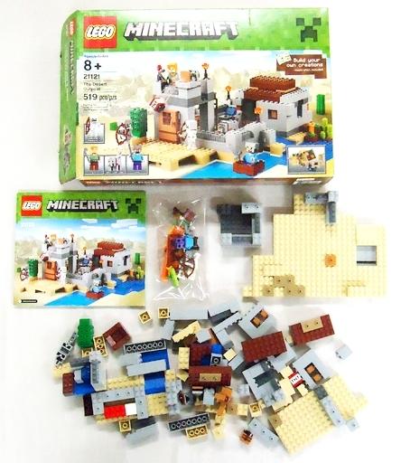 【中古】おもちゃ [開封済み] LEGO 砂漠地帯 「レゴ マインクラフト」 21121
