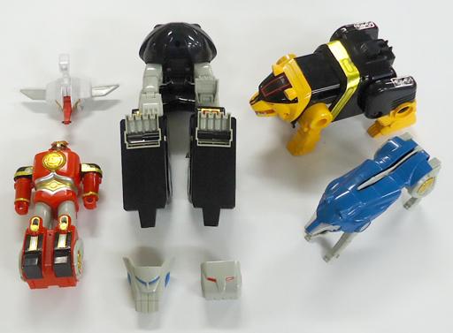 【中古】おもちゃ [破損品/箱・付属品欠品] 五神合体 DX隠大将軍 「忍者戦隊カクレンジャー」