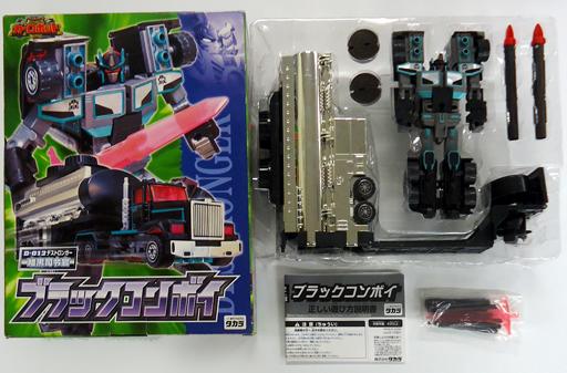 【中古】おもちゃ [破損品] D-012 暗黒司令官 ブラックコンボイ 「トランスフォーマー カーロボット」