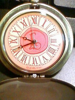 【中古】腕時計・懐中時計(キャラクター) レイトン教授の懐中時計 Lマーク