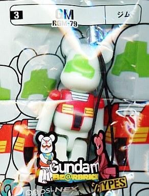 【中古】ストラップ(キャラクター) RGM-79 ジム ストラップ 「機動戦士ガンダム PEPSI NEX Gundam BE@RBRICK-ベアブリック-」