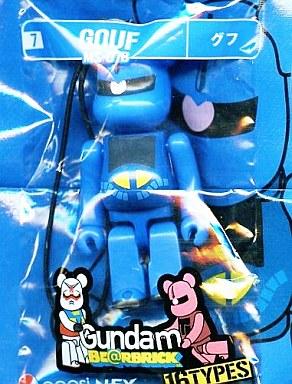 【中古】ストラップ(キャラクター) MS-07B グフ ストラップ 「機動戦士ガンダム PEPSI NEX Gundam BE@RBRICK-ベアブリック-」
