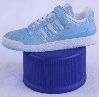 【中古】ペットボトルキャップ No.14 FRUM-LO enamel blue×enamel white 「PEPSI adidasスニーカーボトルキャップ」