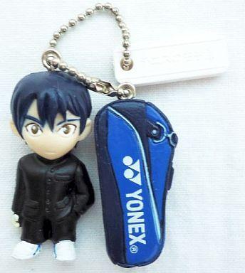 【中古】バッグ(キャラクター) リョーマ+ラケットバッグ テニスの王子様 フィギュアキーホルダー