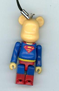 【中古】ストラップ(キャラクター) スーパーマン(通常/スーパーマンリターンズ) ストラップ PEPSINEX BE@RBRICK