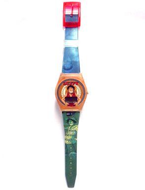 【中古】腕時計・懐中時計(キャラクター) ルフィ「ワンピース」タイムショット(リストウォッチ)