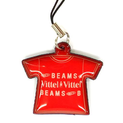 【中古】その他雑貨(キャラクター) Tシャツ型携帯クリーナー(赤) BEAMS for Vittel
