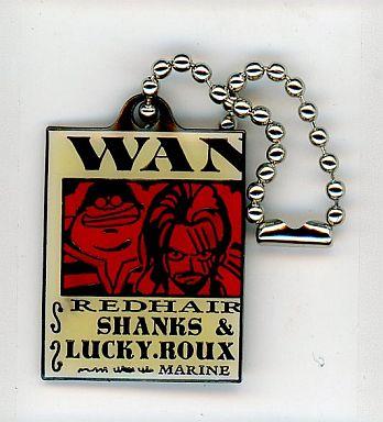 シャンクス&ラッキー・ルゥ(ガンメタリック)「ワンピース ウォンテッドプレートPART4」