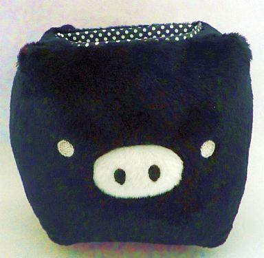 【中古】小物(キャラクター) モノクロブー(黒) ぬいぐるみ付ホワイトボード 「モノクロブー」