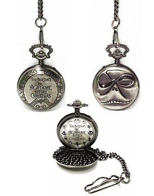 【中古】腕時計・懐中時計(キャラクター) 懐中時計Ver.4 (B) 「ティム・バートンズ・ザ・ナイトメアー・ビフォア・クリスマス」