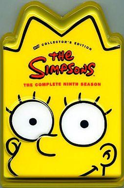 【中古】生活雑貨(キャラクター) リサ・シンプソン リサヘッド 「ザ・シンプソンズ」 シーズン9 DVDコレクターズBOX 先着予約購入者特典