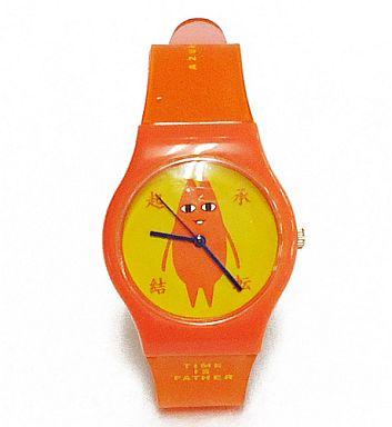 【中古】腕時計・懐中時計(キャラクター) ちよ父(オレンジ) リストウォッチ 「あずまんが大王」
