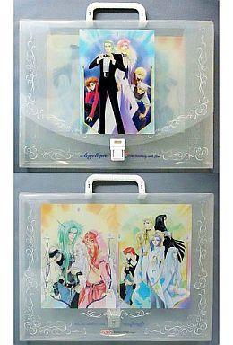 【中古】生活雑貨(キャラクター) アンジェリーク オリジナルキャリングケース 「アンジェリーク?聖地より愛をこめて?」 OVA全4巻購入者特典